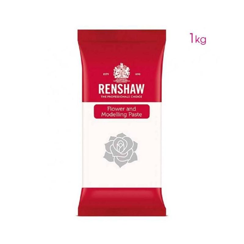 Pâte à fleurs et modelage blanche Renshaw 1 KG