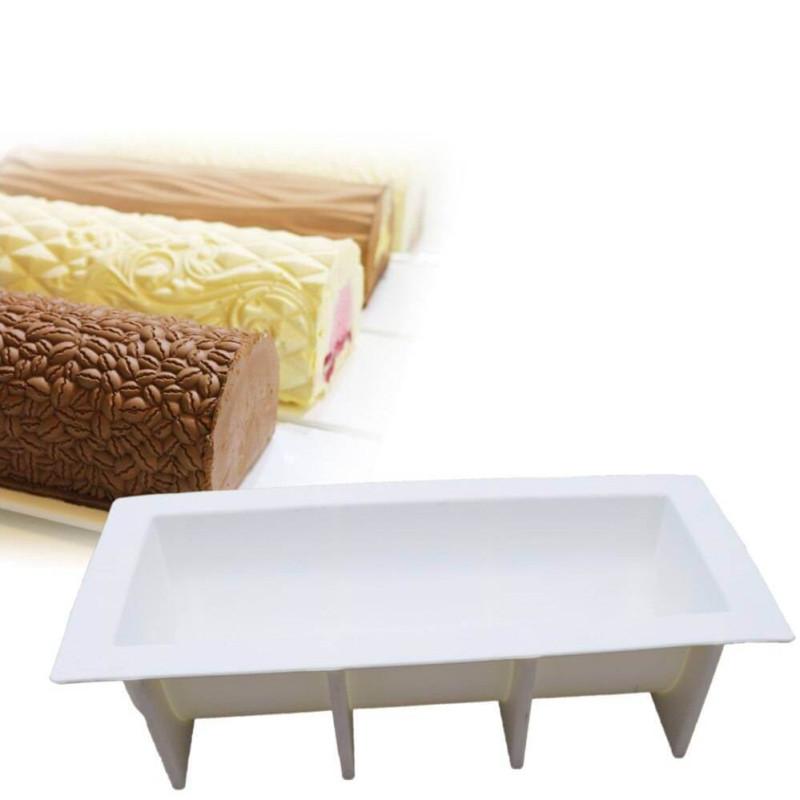Silicone log mould 29 cm