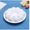 Moule cuisson 3D fleur forme circulaire