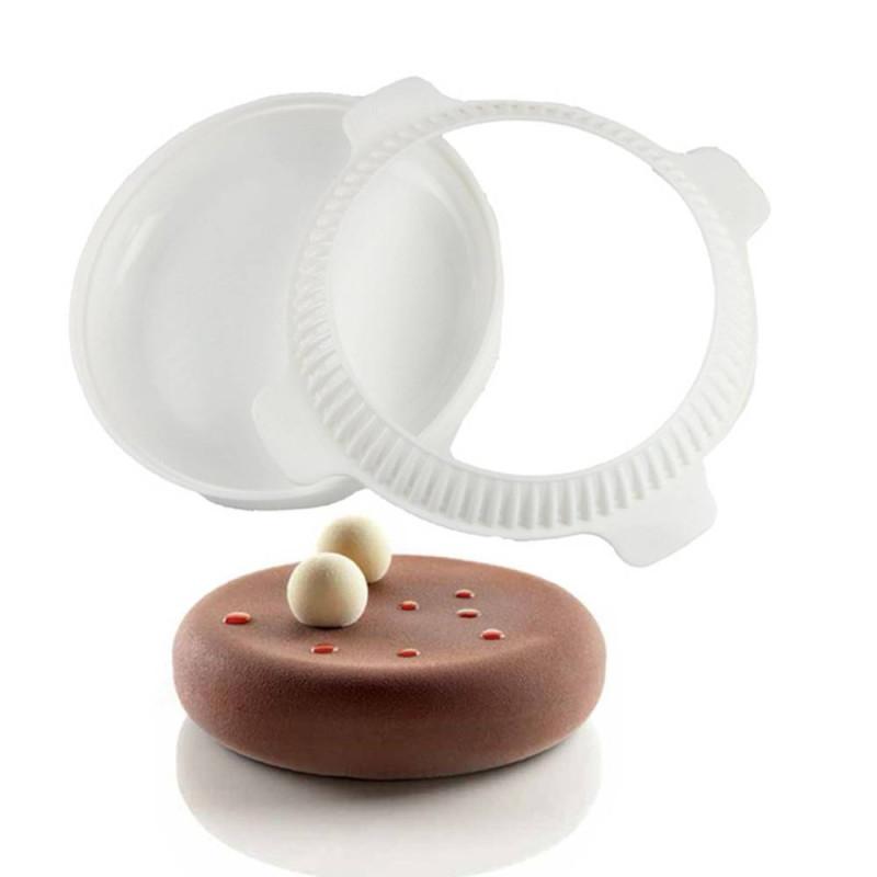 Moule à gâteau en silicone 3D eclipse