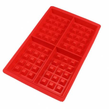 Baking mould for 4 waffles