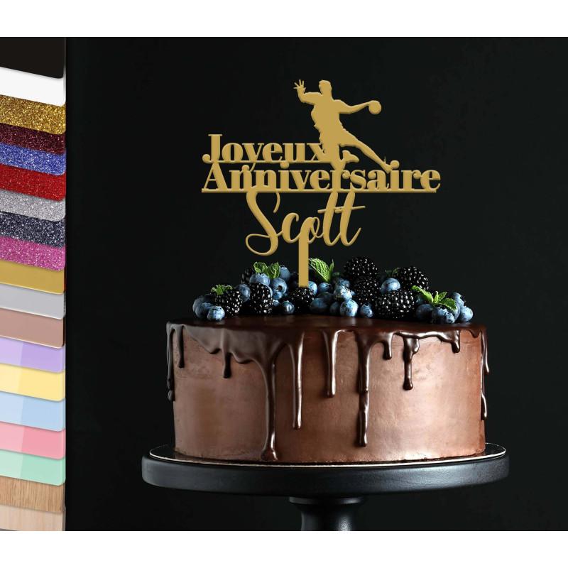 Topper handball Birthday Cake