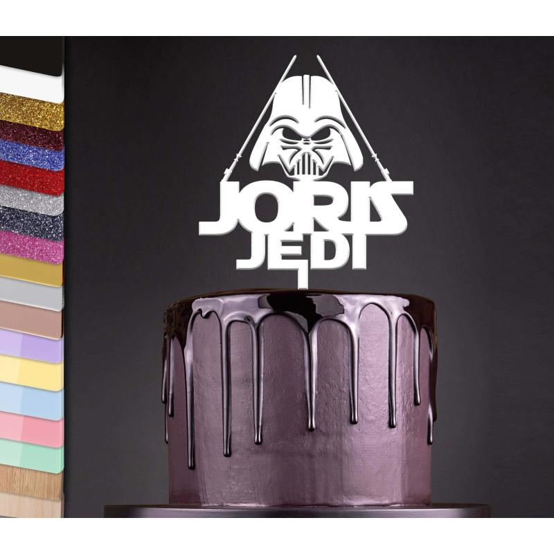 Topper pastel personalizado STAR WARS y Vader