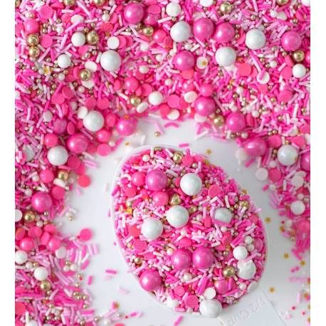 Sprinkles mix FLAMINGO from Sweetapolita 100 g