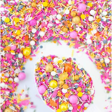 Sprinkles mix GIRLS WANT TO HAVE SUN de Sweetapolita 85 g