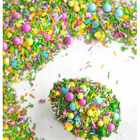 Sprinkles mix GRASS IS GREENER from Sweetapolita 85 g