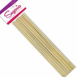 12 dowels tiges en bois 30 cm