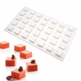 Silicone mould 35 square shapes