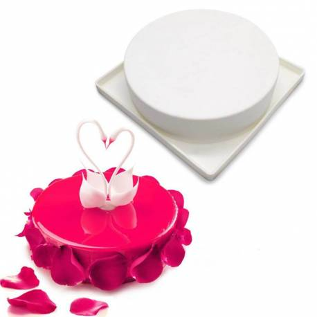 Round silicone baking mould 18 cm