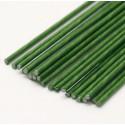 25 tiges à fleurs vertes gauge 18