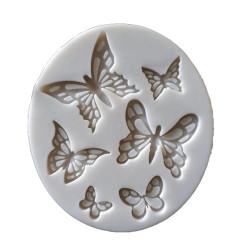 Moule en silicone 6 papillons