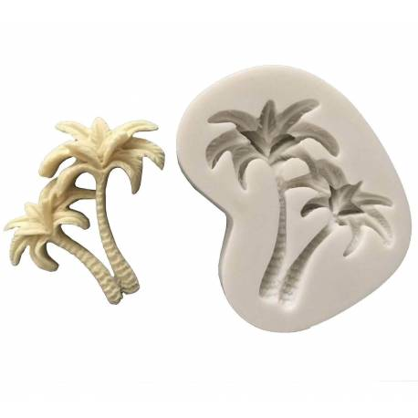 Silicone mould palm