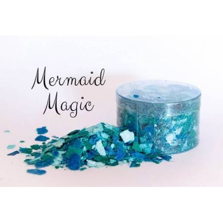 Flocons comestibles bleu MERMAID MAGIC