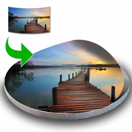 Printing of YOUR Cake board sticker of 30cm