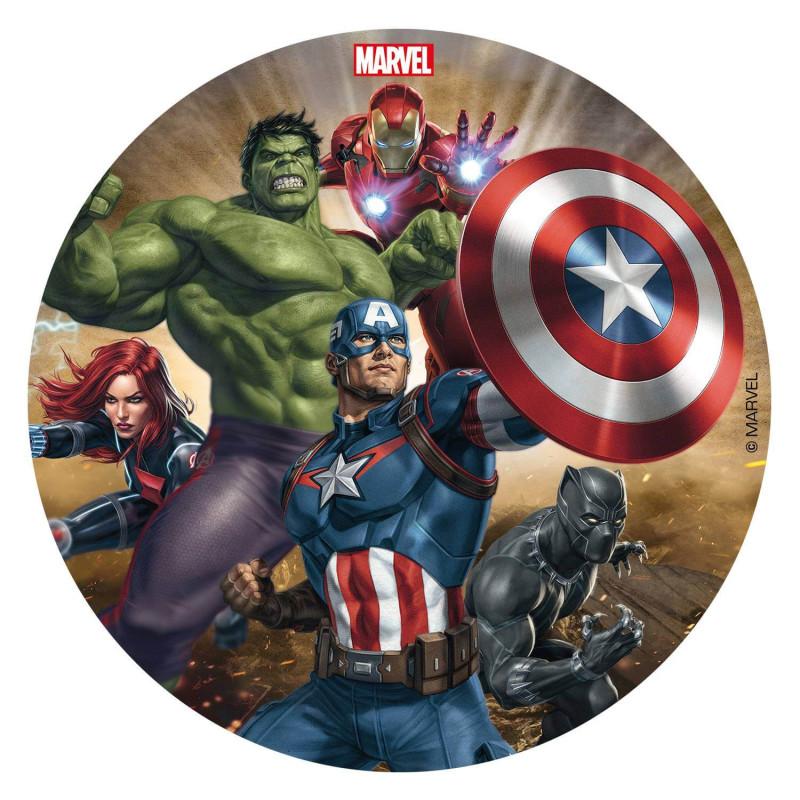 Disque comestible Avengers 16 cm