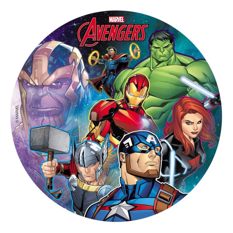 Edible disc Avengers 20 cm