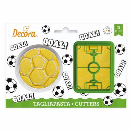 2 ball and football field cutters