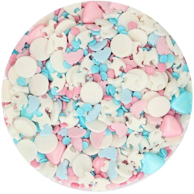 Las decoraciones de azúcar de Medleys Gendeal revelan 65 g