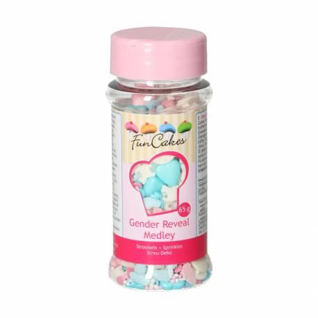 Medleys décorations en sucre Gendeal Reveal 65 g