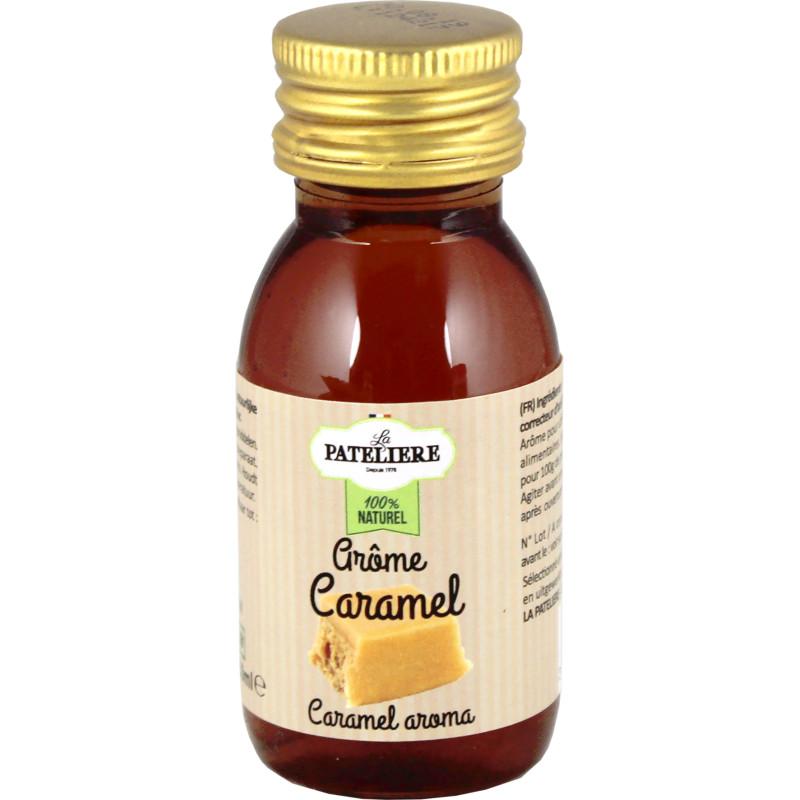 Arôme caramel 100 % naturel 60 ml