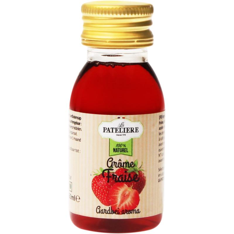 Arôme fraise 100 % naturel 60 ml