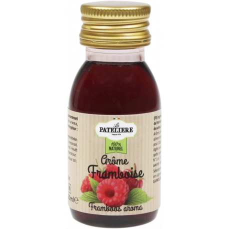 Aromatizante de frambuesa 100% natural 60 ml