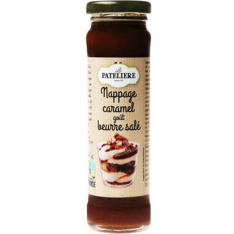 Caramel coating with salted butter flavour 200 g