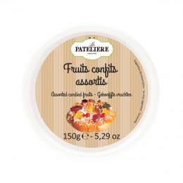 Fruits confits assortis 150 g