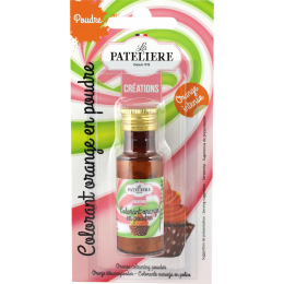 Colorant naturel en poudre orange 7 g