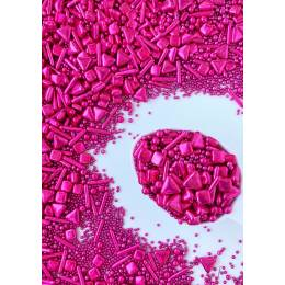 Sprinkles mix Back to fuschia de Sweetapolita 100 g