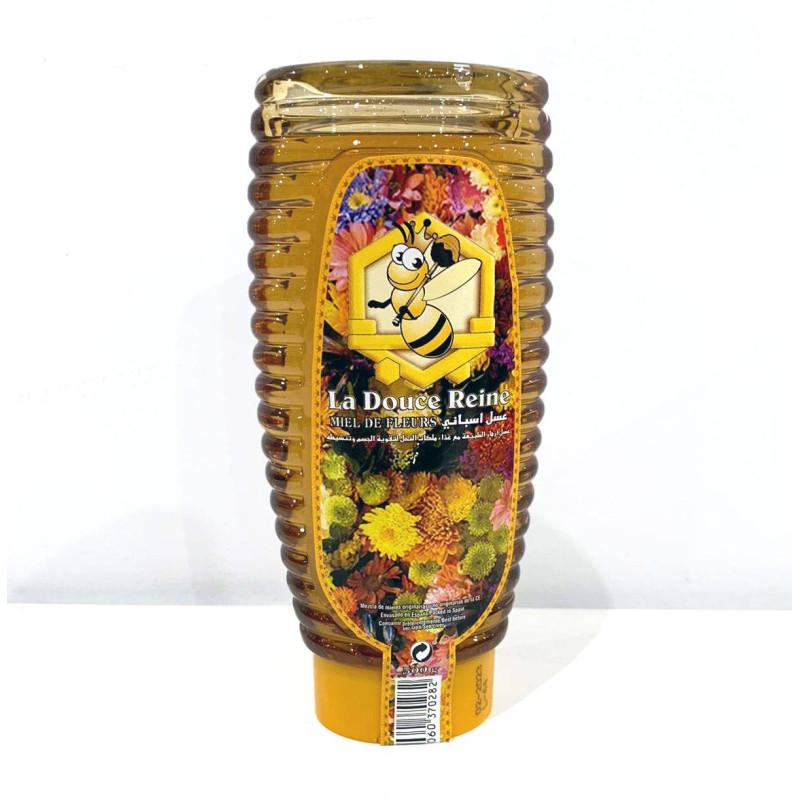 Miel NATUREL de fleurs La douce reine 500g