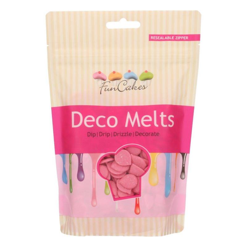 Deco Melt color Rosa Funcakes 250g