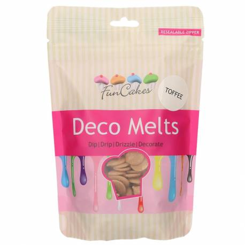 Sabor a caramelo Deco Melt Funcakes 250g