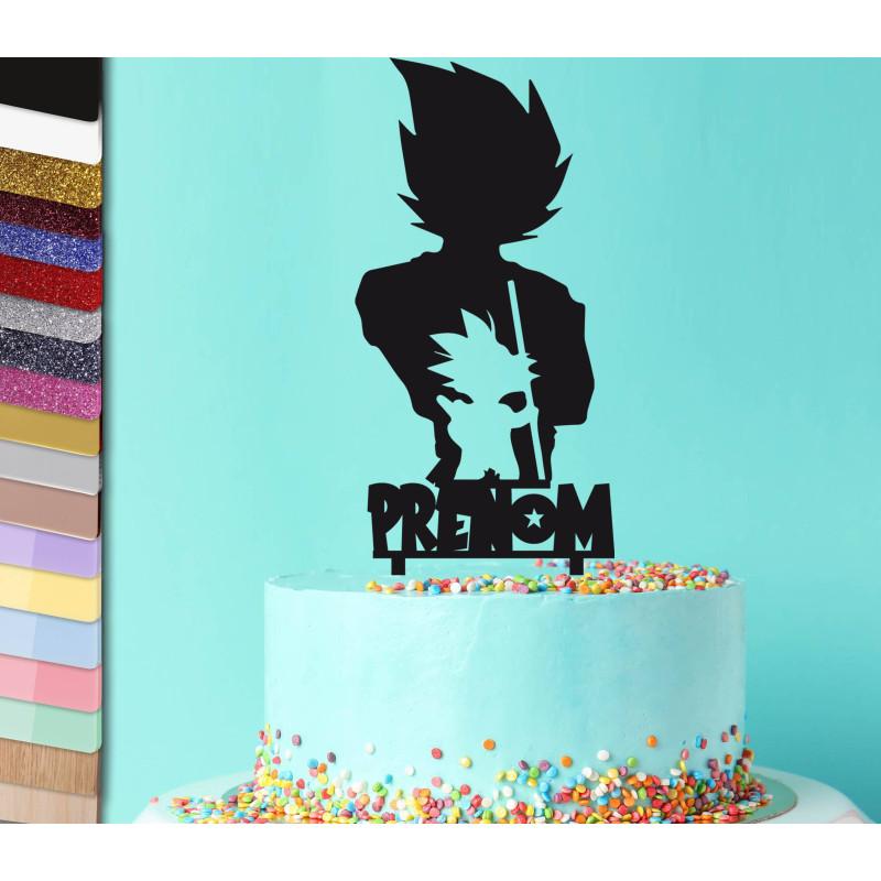 Topper gâteau DRAGON BALL Z personnalisé