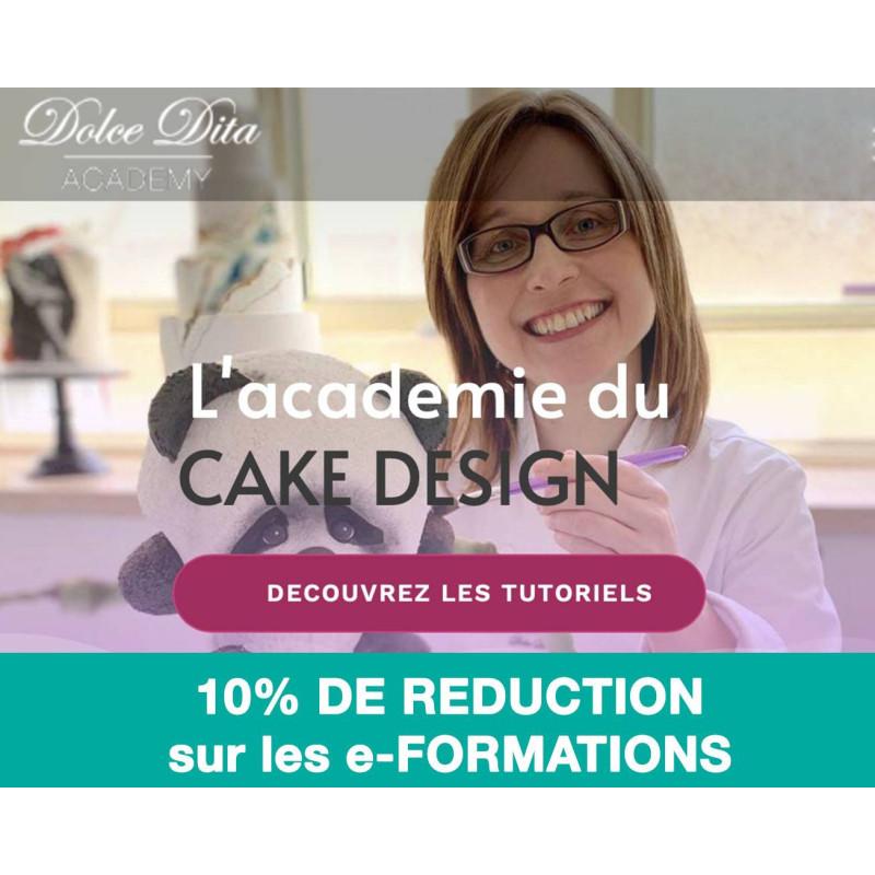 Código de descuento de 10 euros en el entrenamiento en línea Cake Design