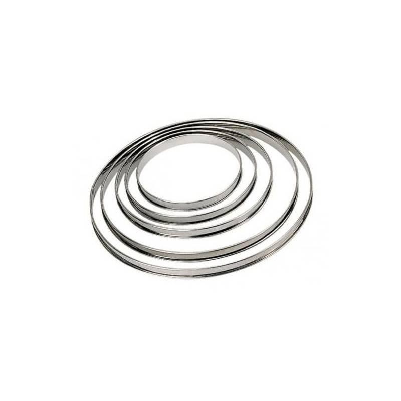 Stainless steel pie rings
