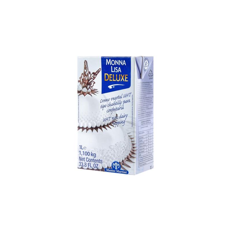 Crème liquide végétale UHT sans lait Monna Lisa 1L