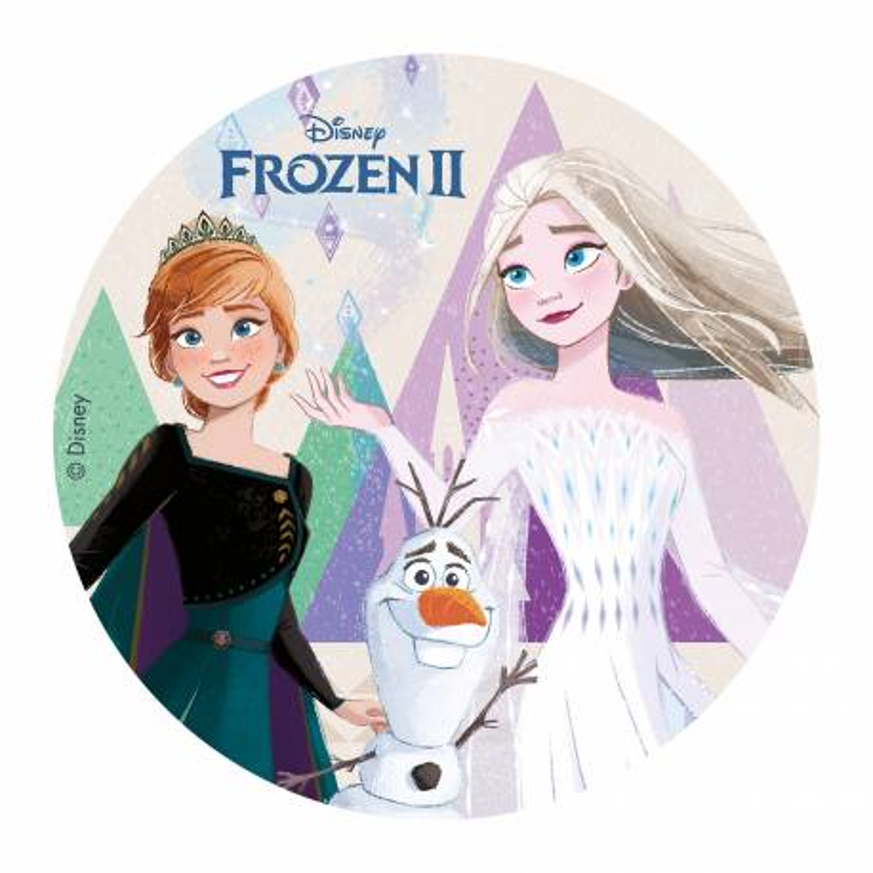 Disco comestible Snow Queen 2 20 cm