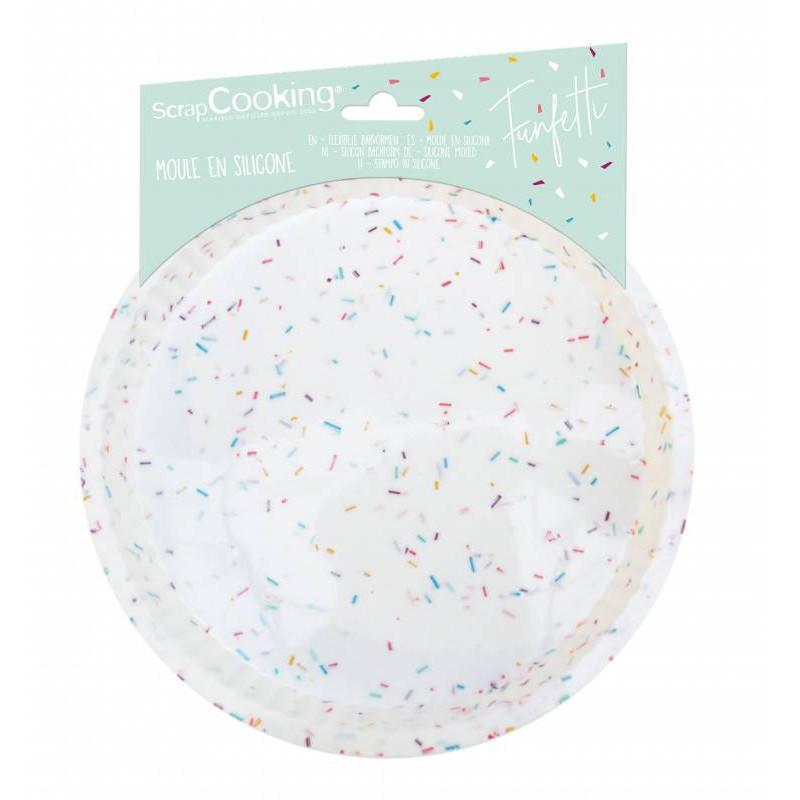 Funfetti Silicone Pie Mould 22 cm