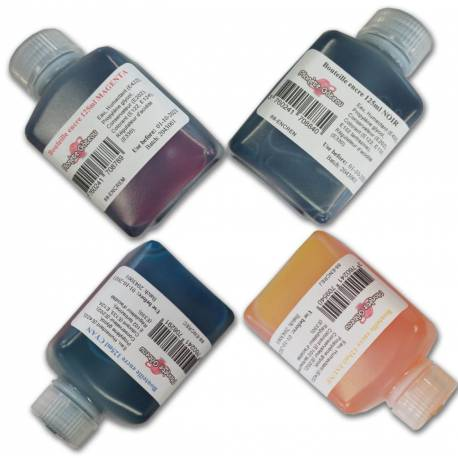 Food grade ink bottle for printer cartridges 125 ml
