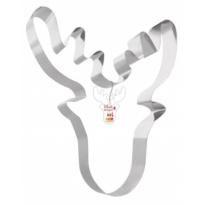Giant reindeer die-cutting mould
