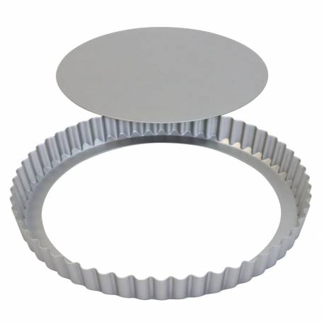 Tart mould with removable bottom 25 cm PME