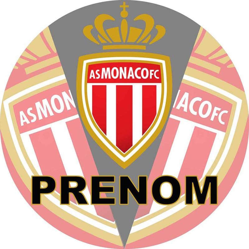 Personalized food printing AS MONACO Football Club