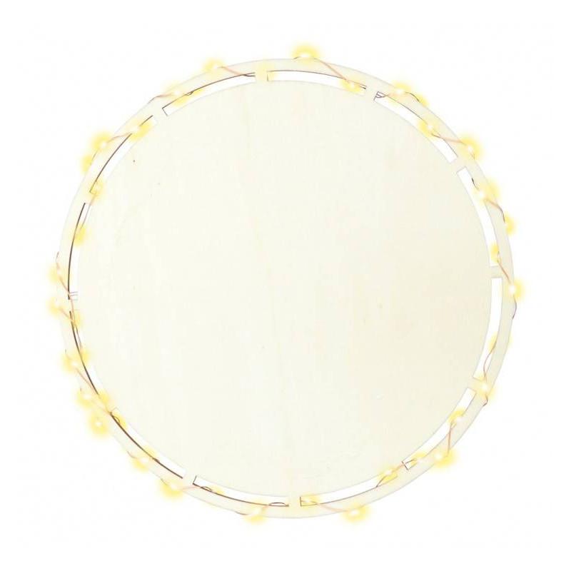 Plat led lumineux rond 26.5 cm