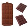 Moule mini tablettes de chocolat