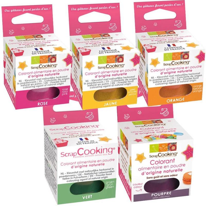 Polvo colorante alimentario natural 10 g