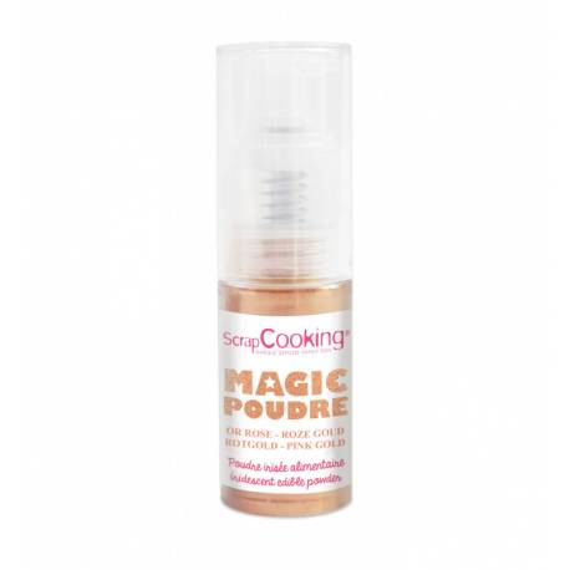 Spray de purpurina oro rosa 7 g