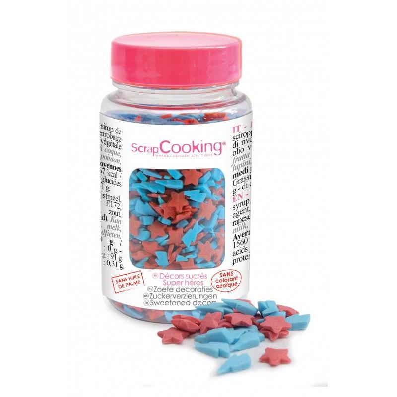 Sprinkles en sucre Super Héros 55g