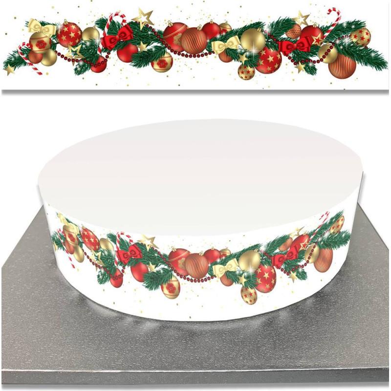 Sugar Cake Contour for CHRISTMAS