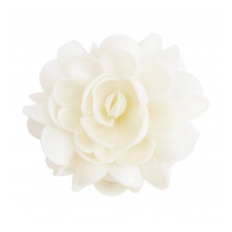 1 White unleavened flower XXL approx. 10cm diameter